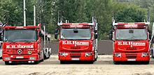 С европейским лидером перевозок eh harms gmbh  co automobile-logistics он создал совместное